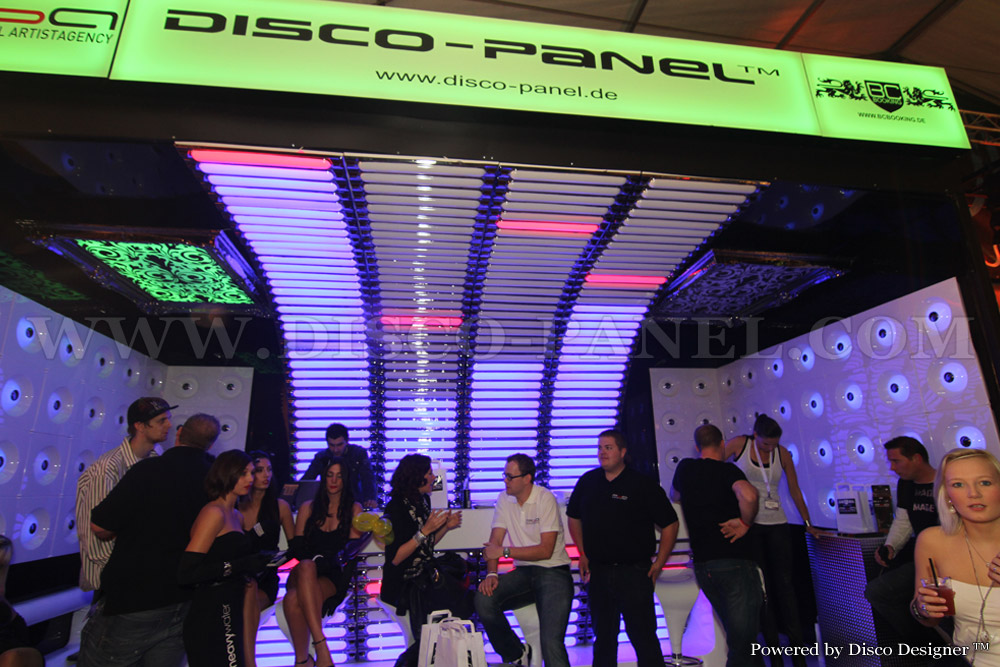 Disco-Panel at a Exibition